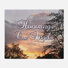 Honoring Our Angels Throw Blanket