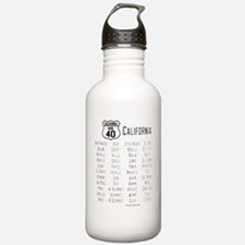 US Route 40 California Sports Water Bottle