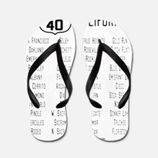 US Route 40 California cities Flip Flops