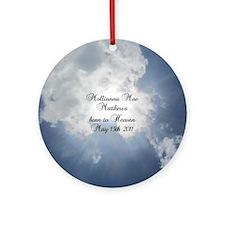 Molliannas Mission Inc. Round Ornament