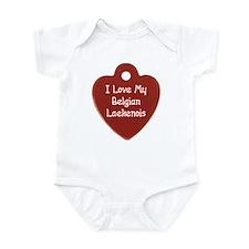 Love My Laekenois Infant Bodysuit