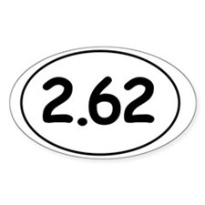 Two-point-six-two Decal