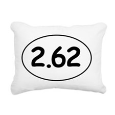 Two-point-six-two Rectangular Canvas Pillow