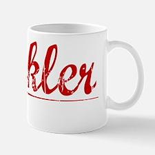 Winkler, Vintage Red Mug
