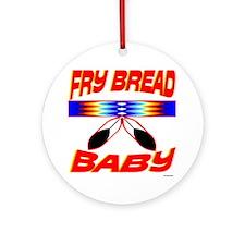 NATIVE AMERICAN BABY Round Ornament