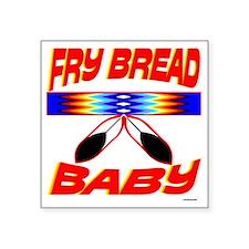 """NATIVE AMERICAN BABY Square Sticker 3"""" x 3"""""""