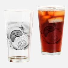 Remembering Mollianna Mae Drinking Glass