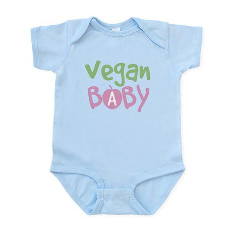 Vegan Baby Girl Infant Bodysuit