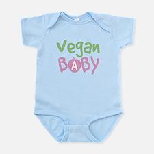 Vegan Baby Girl Onesie
