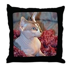 Little George Hairlesson Throw Pillow