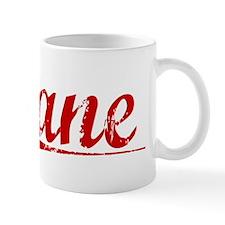 Zane, Vintage Red Mug