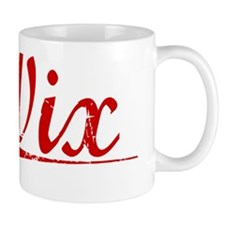 Wix, Vintage Red Mug