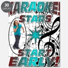 KARAOKE STARS START EARLY! Puzzle