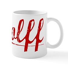 Wolff, Vintage Red Mug