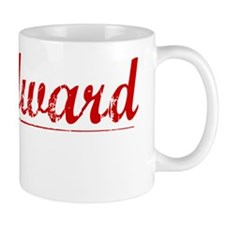 Woodward, Vintage Red Mug