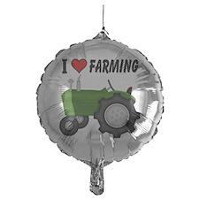 I  Love (Heart) Farming Balloon