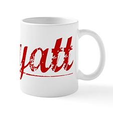 Wyatt, Vintage Red Mug