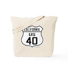 US Route 40 - California Tote Bag