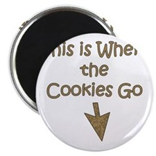 Where Cookies Go Magnet