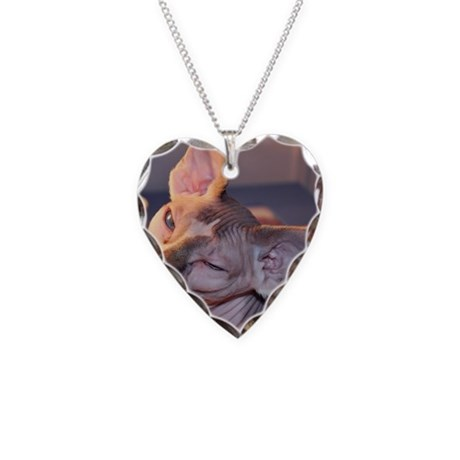 Little George Hairlesson Necklace Heart Charm
