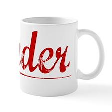 Zander, Vintage Red Mug