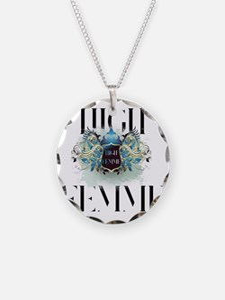 High Femme Shield Bon Soir Necklace
