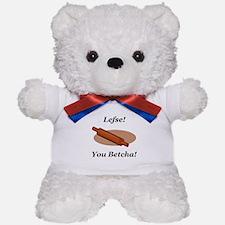 Lefse You Betcha Teddy Bear