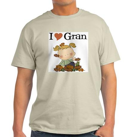Autumn Girl I Love Gran Light T-Shirt
