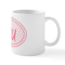 Pink Chevron Duathlon Mug