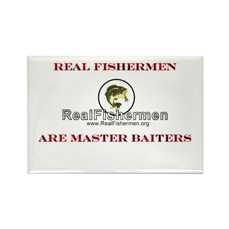 Master Baiters Rectangle Magnet (10 pack)