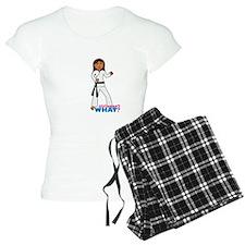 Martial Arts Girl - Long Hair Pajamas