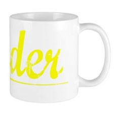 Nader, Yellow Small Mug