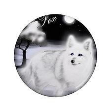 "White Fox copy 3.5"" Button"