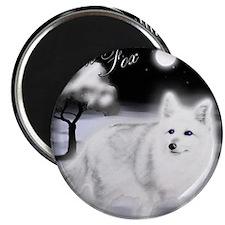 White Fox copy Magnet