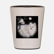 White Fox copy Shot Glass