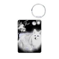 White Fox copy Keychains