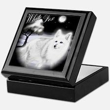 White Fox copy Keepsake Box