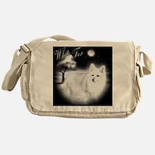 White Fox copy Messenger Bag