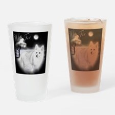 White Fox copy Drinking Glass