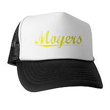 Moyers, Yellow Trucker Hat