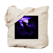 Wolf Howling copy Tote Bag