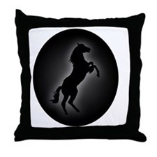 Stallion copy Throw Pillow