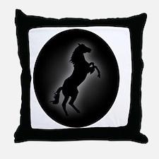 Stallion copy Throw Pillow