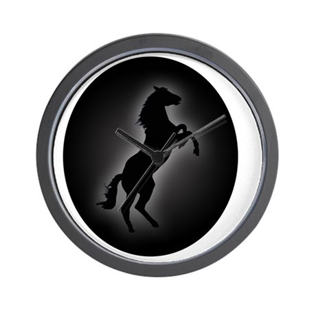 Stallion copy Wall Clock