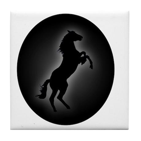 Stallion copy Tile Coaster