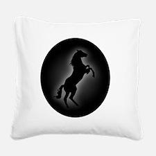 Stallion copy Square Canvas Pillow
