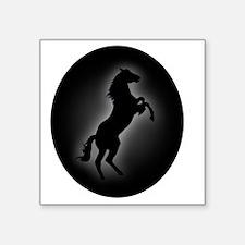 "Stallion copy Square Sticker 3"" x 3"""