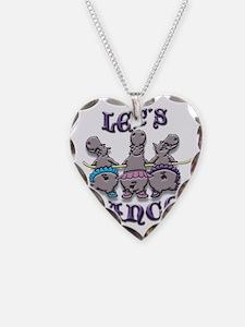 Lets Dance! (hippos) Necklace