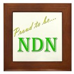Proud to be NDN Framed Tile