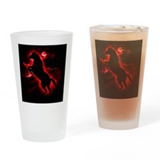 Fire Horse Drinking Glass
